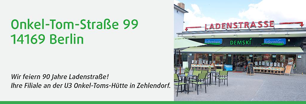 DEMSKI-Filiale in der Onkel-Tom-Straße 99, 14169 Berlin