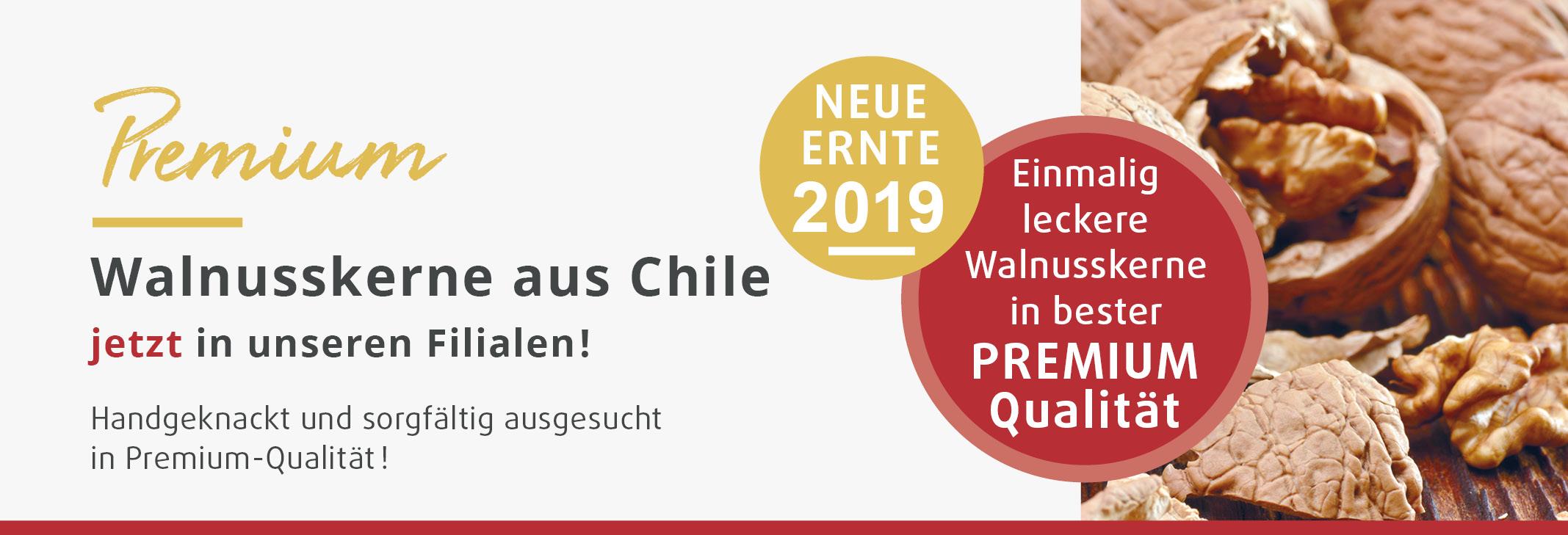 Walnusskerne aus Chile neue Ernte 2019 beim Reformhaus Demski