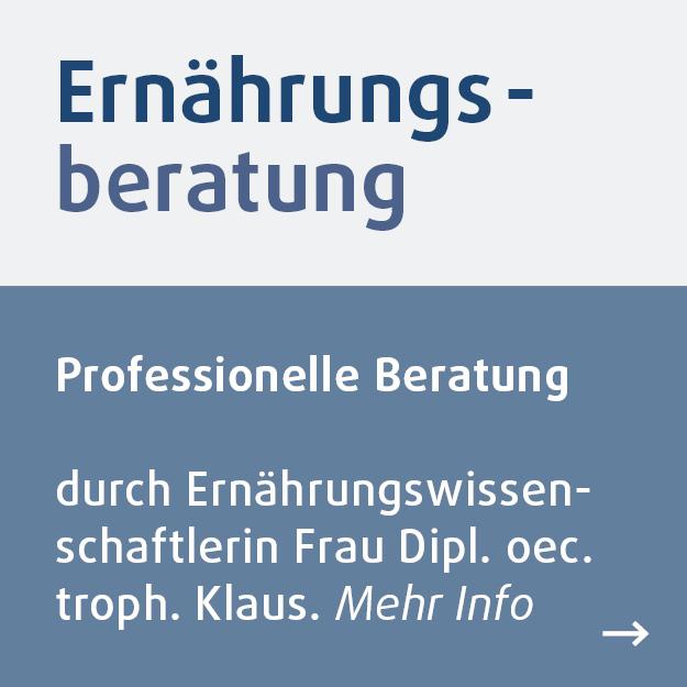Professionelle Ernaehrungsberatung im Reformhaus Demski.