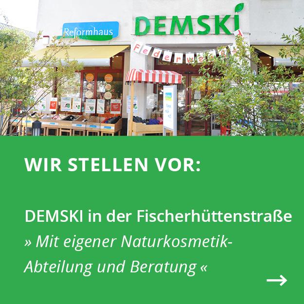 Demski-Filiale in der Fischerhüttenstraße, nahe Krumme Lanke